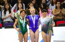 İdman gimnastikası üzrə Dünya Kubokunda mükafatlandırma mərasimi keçirilib (FOTO) - Gallery Thumbnail