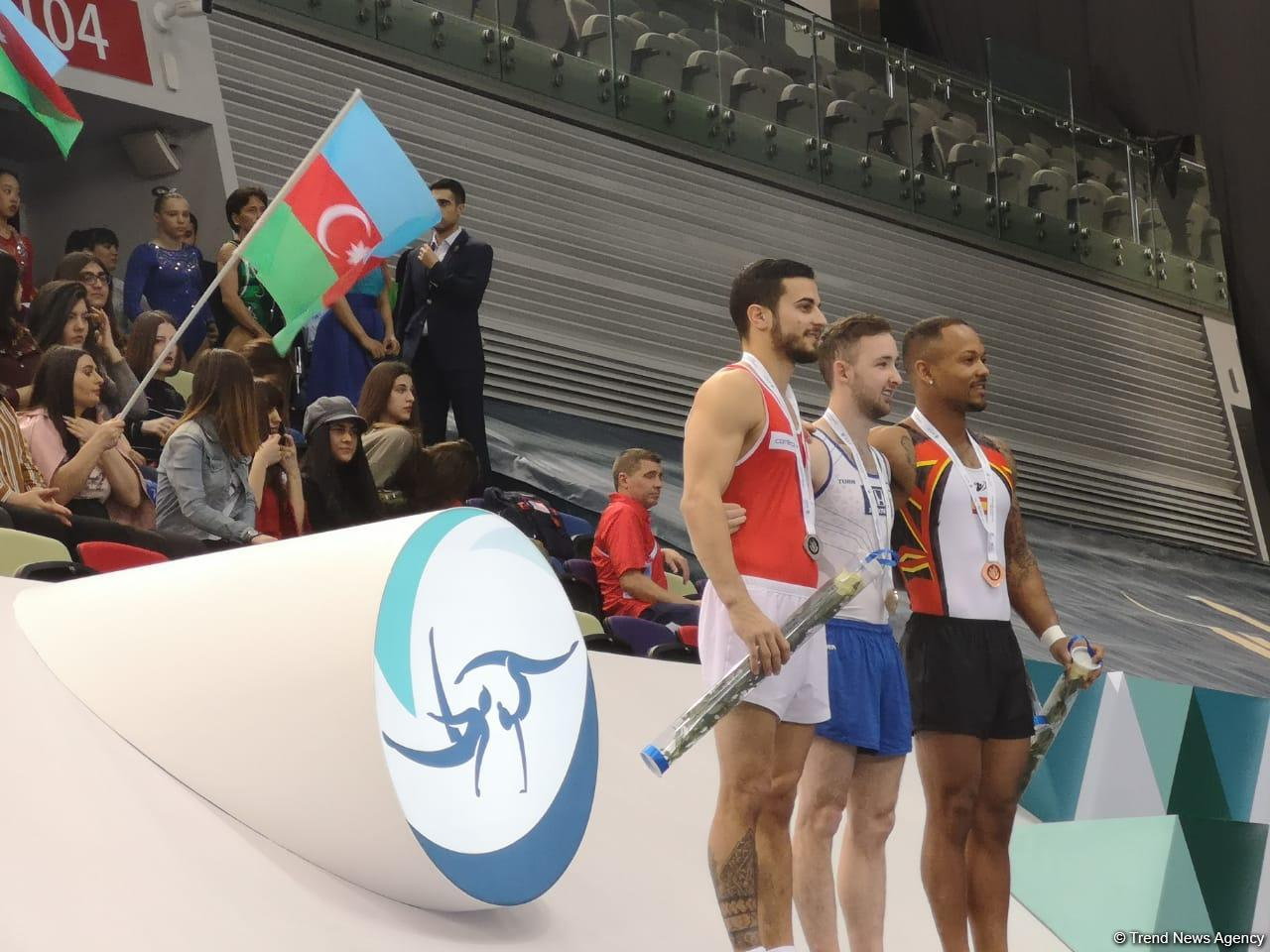 Israeli gymnast wins gold at World Cup in Baku (PHOTO/VIDEO) - Gallery Image
