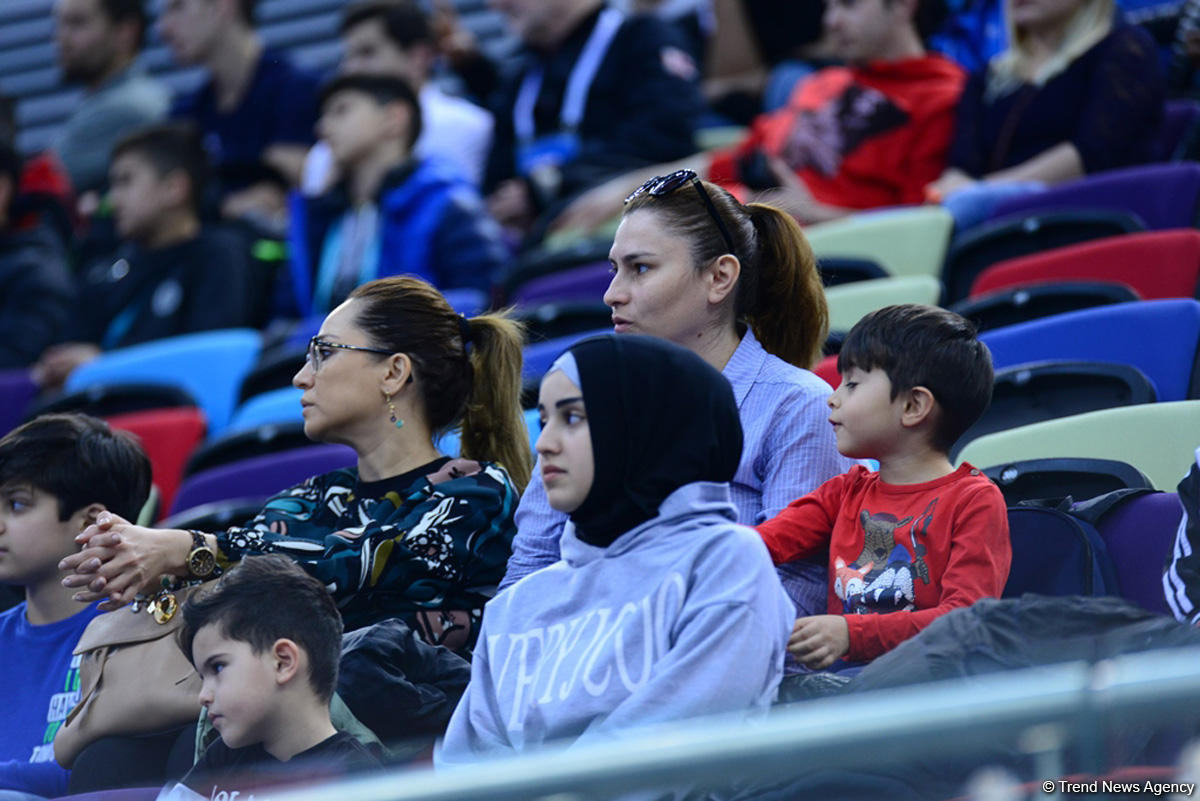 Winners of FIG Artistic Gymnastics World Cup in Baku in uneven bars announced