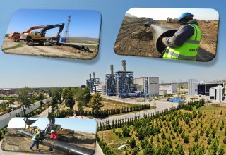 New gas line to Janub TPS being laid in Azerbaijan