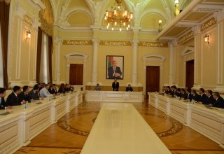 Baku Executive Power signs memorandum of cooperation with Russia's Derbent and Magas (PHOTO)