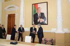 Baku Executive Power signs memorandum of cooperation with Russia's Derbent and Magas (PHOTO) - Gallery Thumbnail