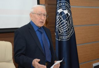 """Academician Telman Aliyev: """"We observe high growth dynamics in UNEC for the last 5 years"""" (PHOTO)"""