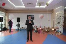 Heydər Əliyev Fondunun təşəbbüsü ilə kimsəsiz və xüsusi qayğıya ehtiyacı olan uşaqlar üçün Novruz şənlikləri keçirilib (FOTO) - Gallery Thumbnail