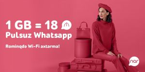 Use free WhatsApp abroad with your Nar number - Gallery Thumbnail