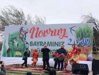 Qaradağda Novruz şənliyi keçirilib (FOTO) - Gallery Thumbnail