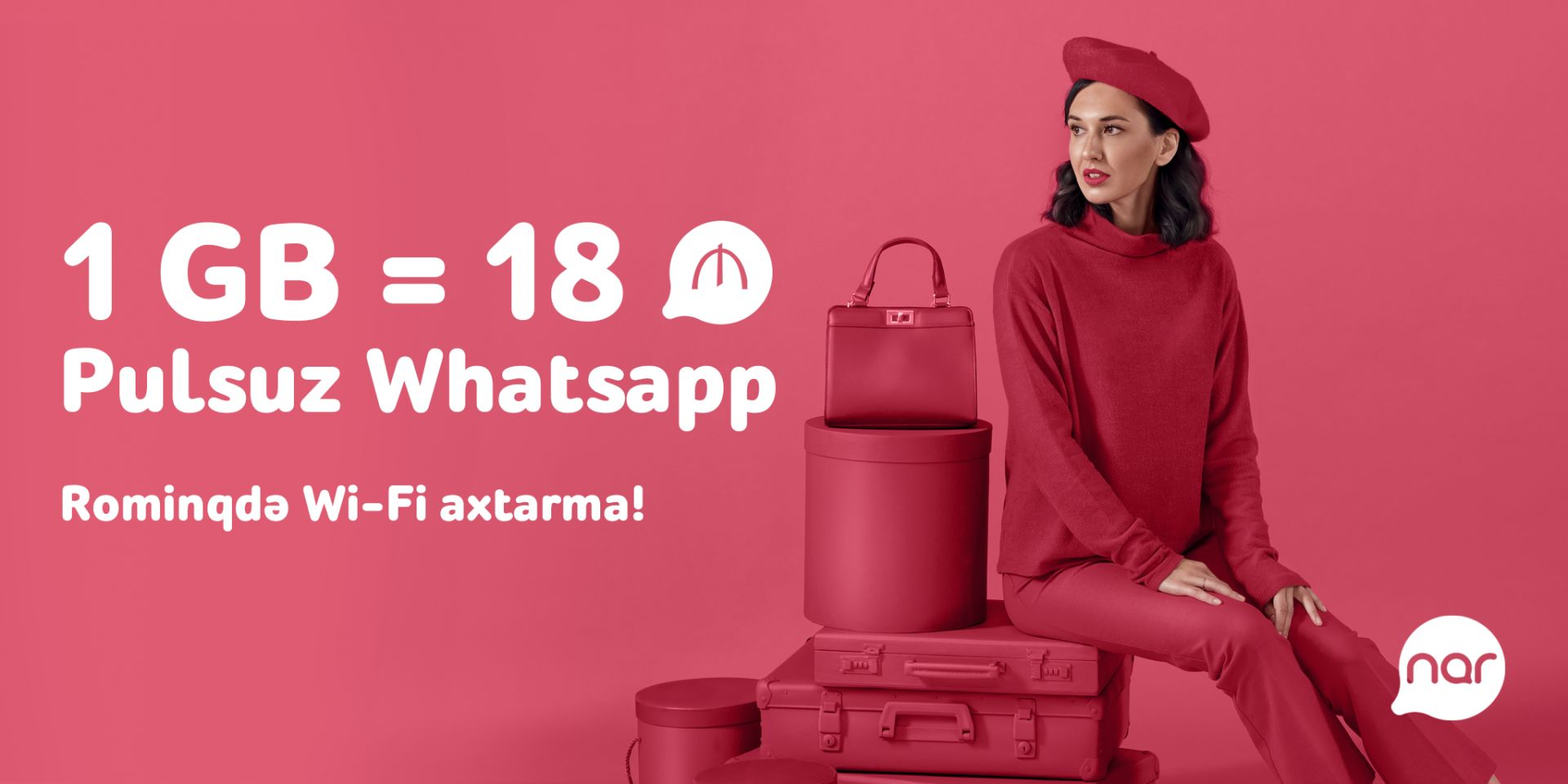 Use free WhatsApp abroad with your Nar number - Gallery Image
