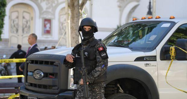 Wanted militant blows himself up in Tunisian capital