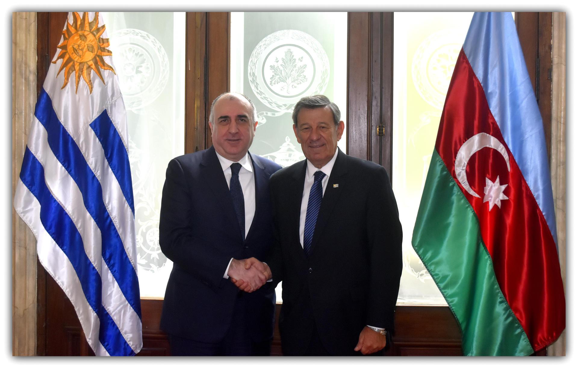 Уругвай намерен в дальнейшем еще больше углублять отношения с Азербайджаном (ФОТО) - Gallery Image