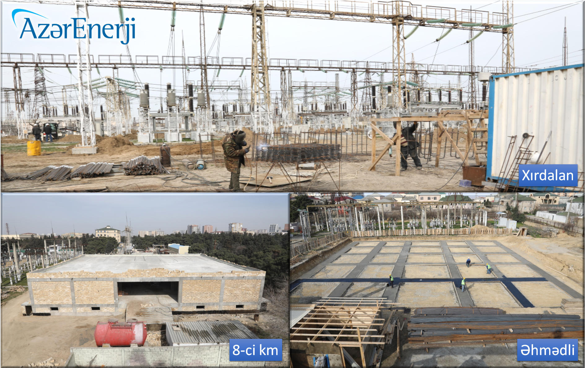 Azerbaijan's Azerenerji OJSC carrying out comprehensive reconstruction of substations (PHOTO) - Gallery Image
