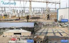 Azerbaijan's Azerenerji OJSC carrying out comprehensive reconstruction of substations (PHOTO) - Gallery Thumbnail