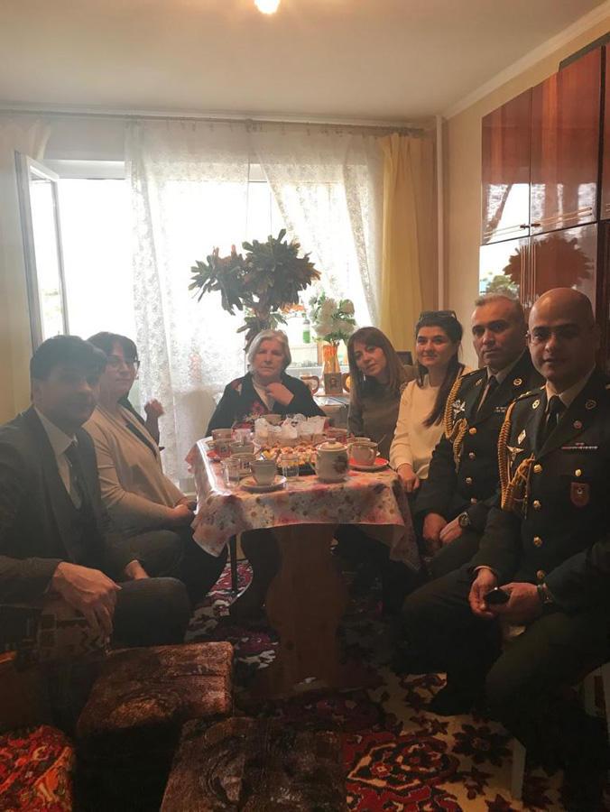 Belarusda Azərbaycan Milli Qəhrəmanın xatirəsi yad edilib (FOTO) - Gallery Image