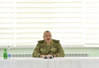 Ilham Aliyev: April battles showed to whole world that Azerbaijani army can complete any task