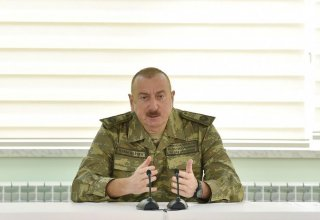 Azerbaijani president: Economic and military strength is on our side