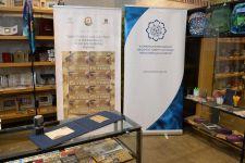 Aprel döyüşlərinin üç illiyinə həsr olunmuş poçt markalarının təqdimatı keçirilib (FOTO) - Gallery Thumbnail