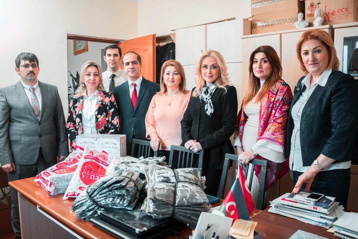 Для воспитанников Ходжалинской школы проведена благотворительная акция (ФОТО) - Gallery Image