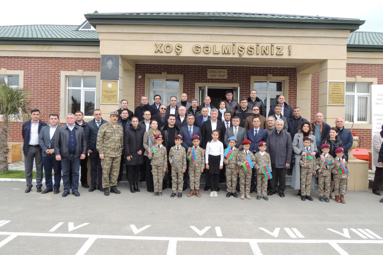 Заместители главы МИД Азербайджана посетили Джоджуг Марджанлы (ФОТО) - Gallery Image