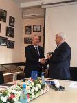 ADU-nun rektoru Kamal Abdulla DTX-nin yubiley medalı ilə təltif olunub (FOTO) - Gallery Thumbnail