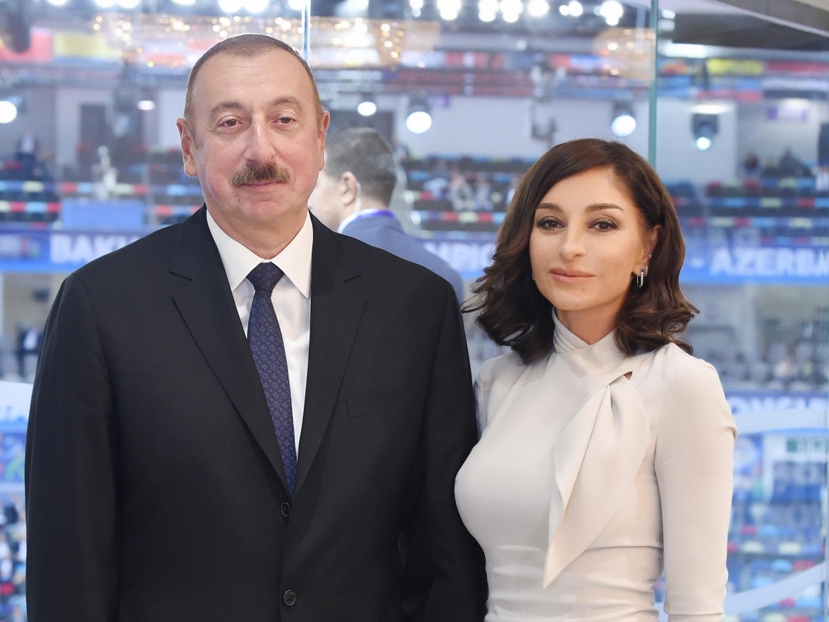 President Aliyev, First Lady Mehriban Aliyeva inaugurate new educational complex of secondary school No 300 in Binagadi