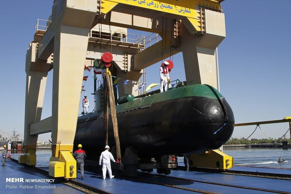 Explosion at submarine battery in Iran