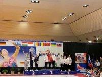 Aerobika gimnastikası üzrə millimizin üzvləri 2 medal qazandı (FOTO) - Gallery Thumbnail
