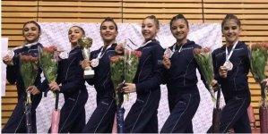 Gənc bədii gimnastlarımız Polşada 5 medal qazandılar (FOTO) - Gallery Thumbnail