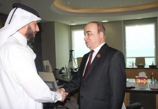 Tajik parliament speaker reportedly holds talks in Doha to discuss labor migration issues