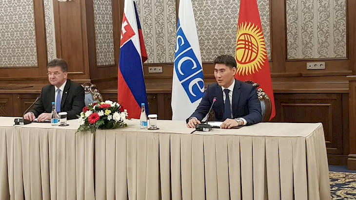 Kyrgyzstan, Slovakia intend to sign number of project agreements