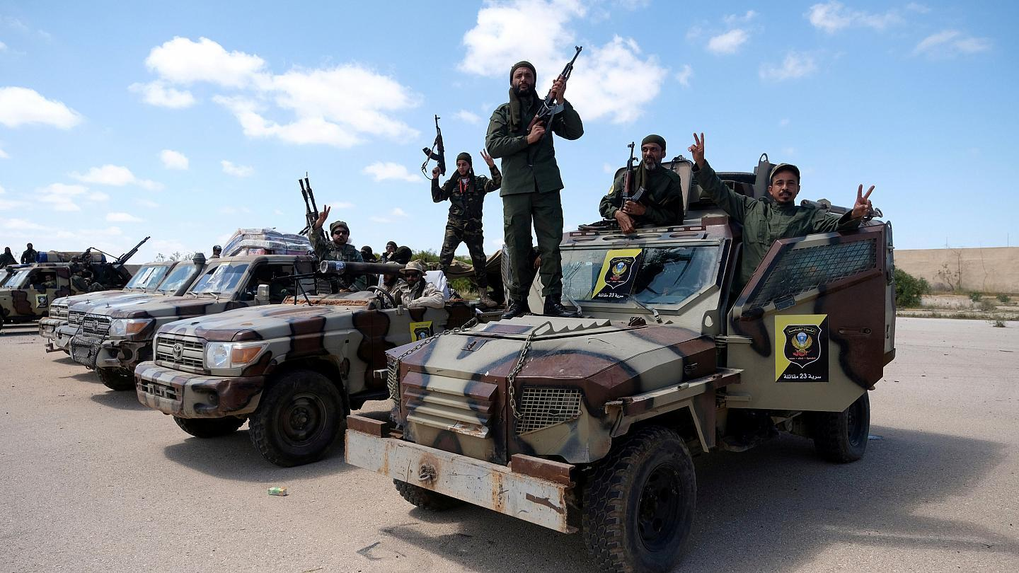 Death toll from Libya's Tripoli fighting hits 392: WHO
