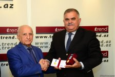Staff members of Trend news agency awarded for positive coverage of 100th anniversary of Azerbaijani Security Bodies (PHOTO) - Gallery Thumbnail