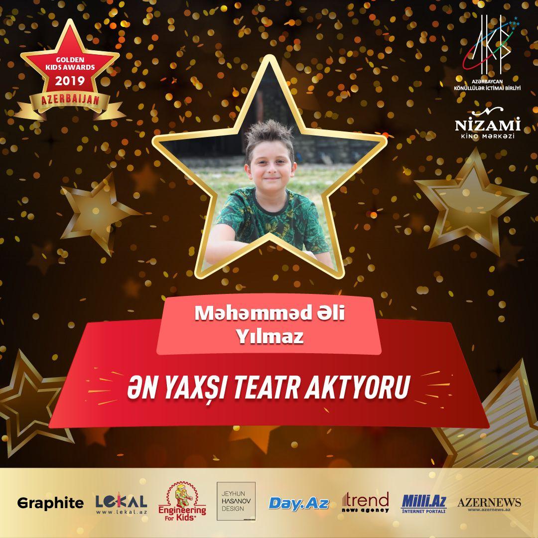 """""""Azerbaijan Golden Kids Awards 2019"""" layihəsinin iştirakçılarının bir qrupu bəlli olub (FOTO) - Gallery Image"""