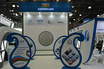 Azerbaijan's stand recognized best at int'l exhibition  in Moscow (PHOTO) - Gallery Image
