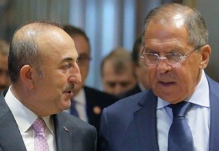 Turkish, Russian FMs discuss situation in Nagorno-Karabakh region