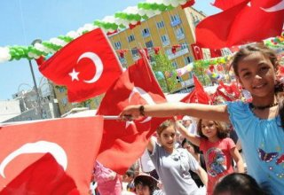 Children account for about 30% of Turkey's population
