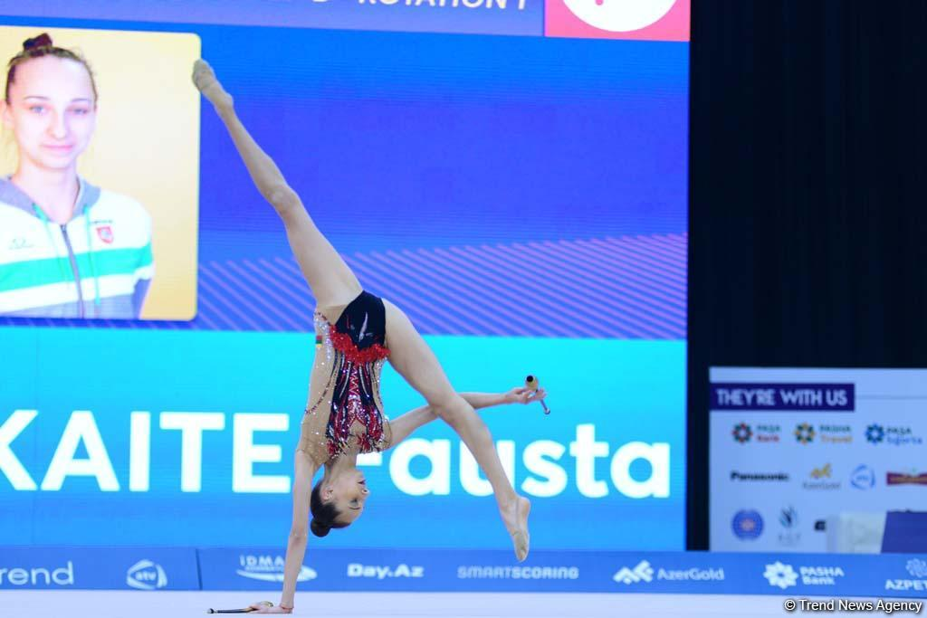 Грациозно и красиво: в Национальной арене гимнастики продолжаются соревнования Международного турнира AGF Junior Trophy (ФОТО) - Gallery Image