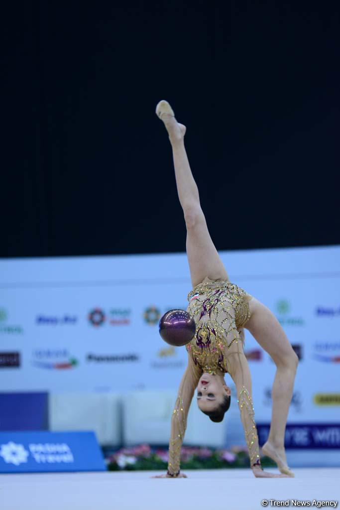 Best moments of AGF 2nd Junior Trophy in Rhythmic Gymnastics in Baku (PHOTO) - Gallery Image