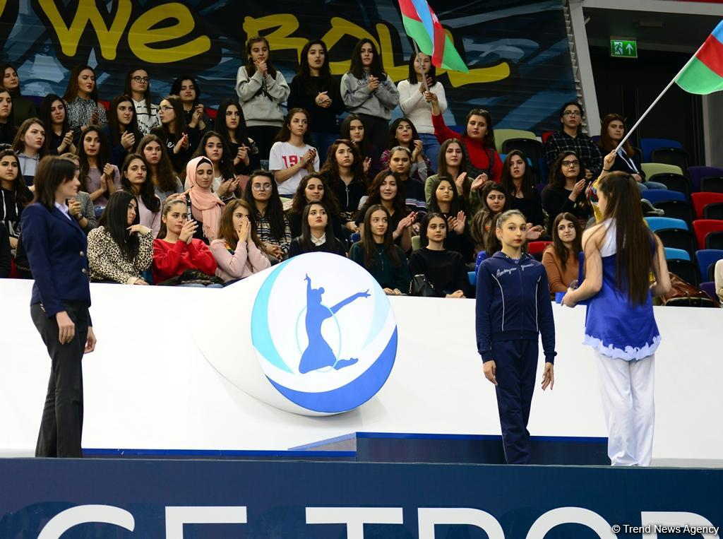 Award ceremony of AGF Junior Trophy in individual all-around held in Baku (PHOTO) - Gallery Image