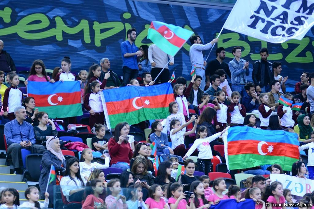 Second day of AGF 2nd Junior Trophy in Rhythmic Gymnastics tournament kicks off in Baku (PHOTO) - Gallery Image