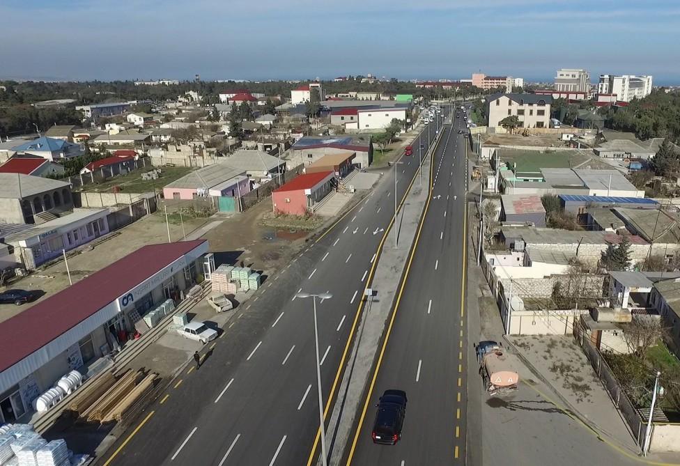 Prezident İlham Əliyev Mərdəkan-Qala avtomobil yolunun açılışında iştirak edib (YENİLƏNİB 2) (FOTO) - Gallery Image