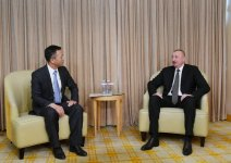 President Ilham Aliyev meets president of China National Electric Engineering (PHOTO) - Gallery Thumbnail