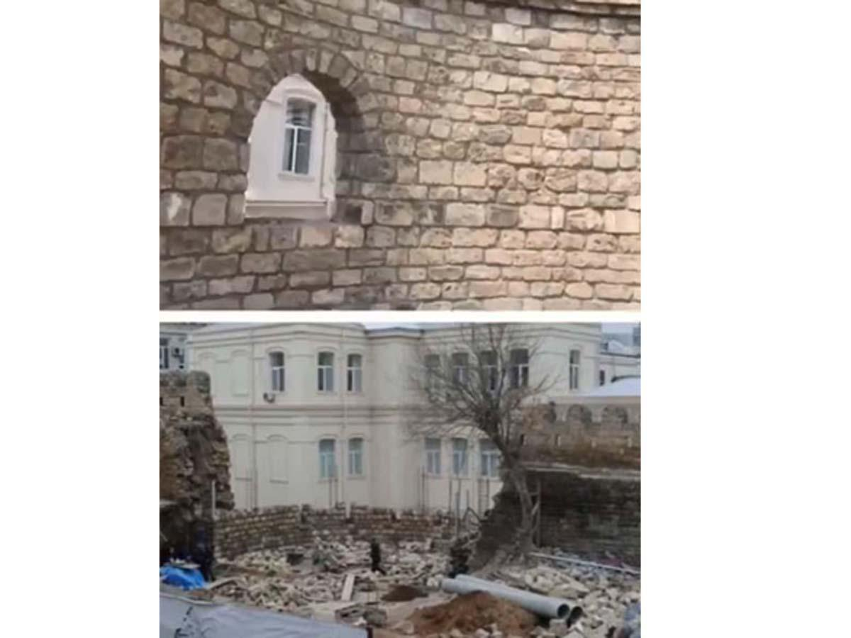 """Department of Baku's """"Icheri sheher"""" reserve comments on photos posted online (VIDEO)"""