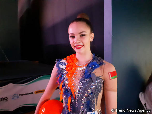 Azerbaijani gymnasts are very lucky, they have such a beautiful hall - Belarus athlete