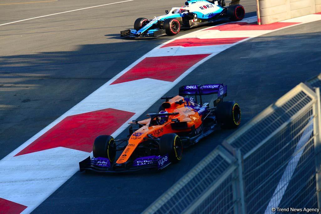 Formula 1-in ikinci yürüşünün üçlüyü müəyyənləşdi (FOTO) - Gallery Image