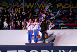 Award ceremony of World Cup in individual all-around held in Baku (PHOTO)