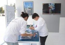 Formula 1 iştirakçıları üçün Bakı bulvarında dron və robot nümayişi (FOTO) - Gallery Thumbnail