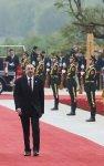 """Prezident İlham Əliyev Pekində """"Bir kəmər, bir yol"""" Beynəlxalq Əməkdaşlıq Forumunda iştirak edib (FOTO) - Gallery Thumbnail"""