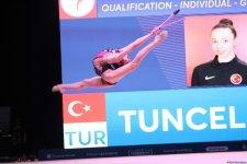 Лучшие моменты второго дня соревнований Кубка мира по художественной гимнастике в Баку (ФОТО) - Gallery Thumbnail