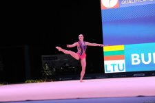 В Баку стартовал второй день соревнований Кубка мира по художественной гимнастике (ФОТО) - Gallery Thumbnail