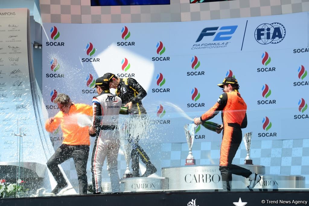 Определились победители F2 в рамках Гран При Формулы 1 SOCAR Азербайджан (ФОТО) - Gallery Image