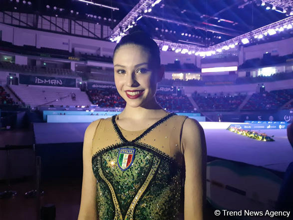 Very strong rivals at FIG World Cup in Baku - Italian gymnast